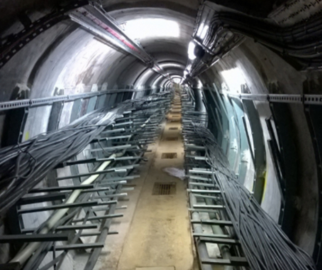 Tunnel being investigated for a client